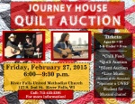 Quilt Auction 2015 flyer