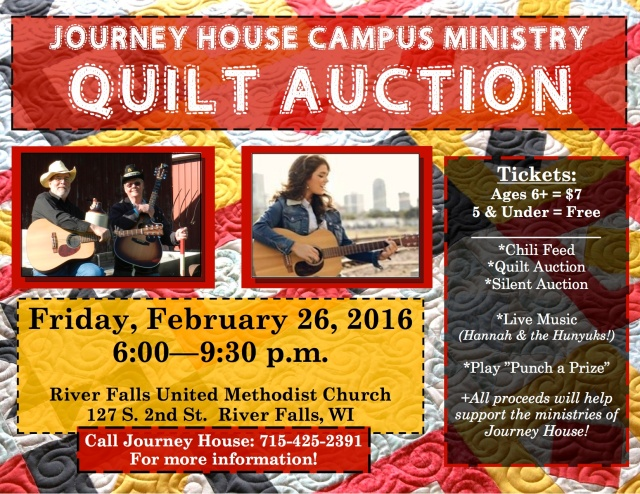 Quilt Auction 2016 flyer
